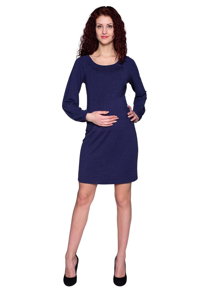 Платье61514ЕПолуприлегающее платье с рукавом-реглан из качественного трикотажного полотна прекрасно подойдет для повседневной носки. По линии горловины и низу рукавов выполнена мягкая сборка. Фэст - одежда по вашей фигуре.