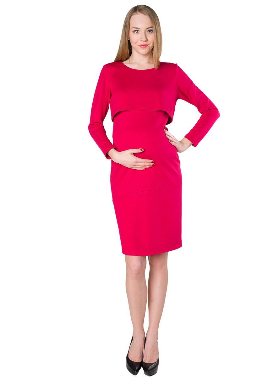 Платье140507ЕПлатье женское для беременных и кормящих благодаря своему покрою позволяет носить его как в период беременности, так и в период кормления малыша. Функциональность модели скрыта под отлетной кокеткой. Фэст - одежда по вашей фигуре.