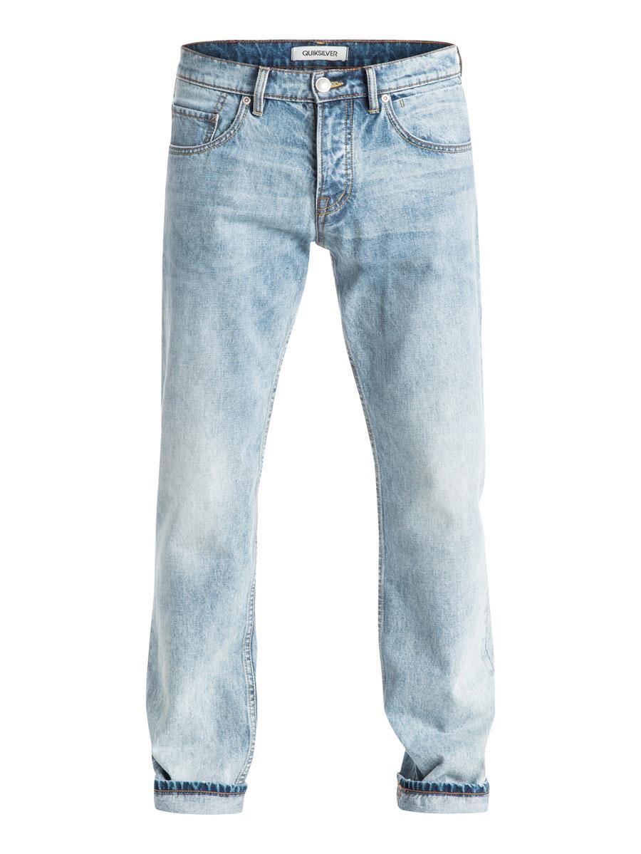 ДжинсыEQYDP03177-BGVWСтильные мужские джинсы Quiksilver, изготовленные из натурального хлопка застегиваются на пуговицу и ширинку на застежках-пуговицах, имеются шлевки для ремня. Спереди модель оформлена двумя глубокими вшитыми карманами и двумя небольшими секретными кармашками, а сзади - двумя накладными карманами.