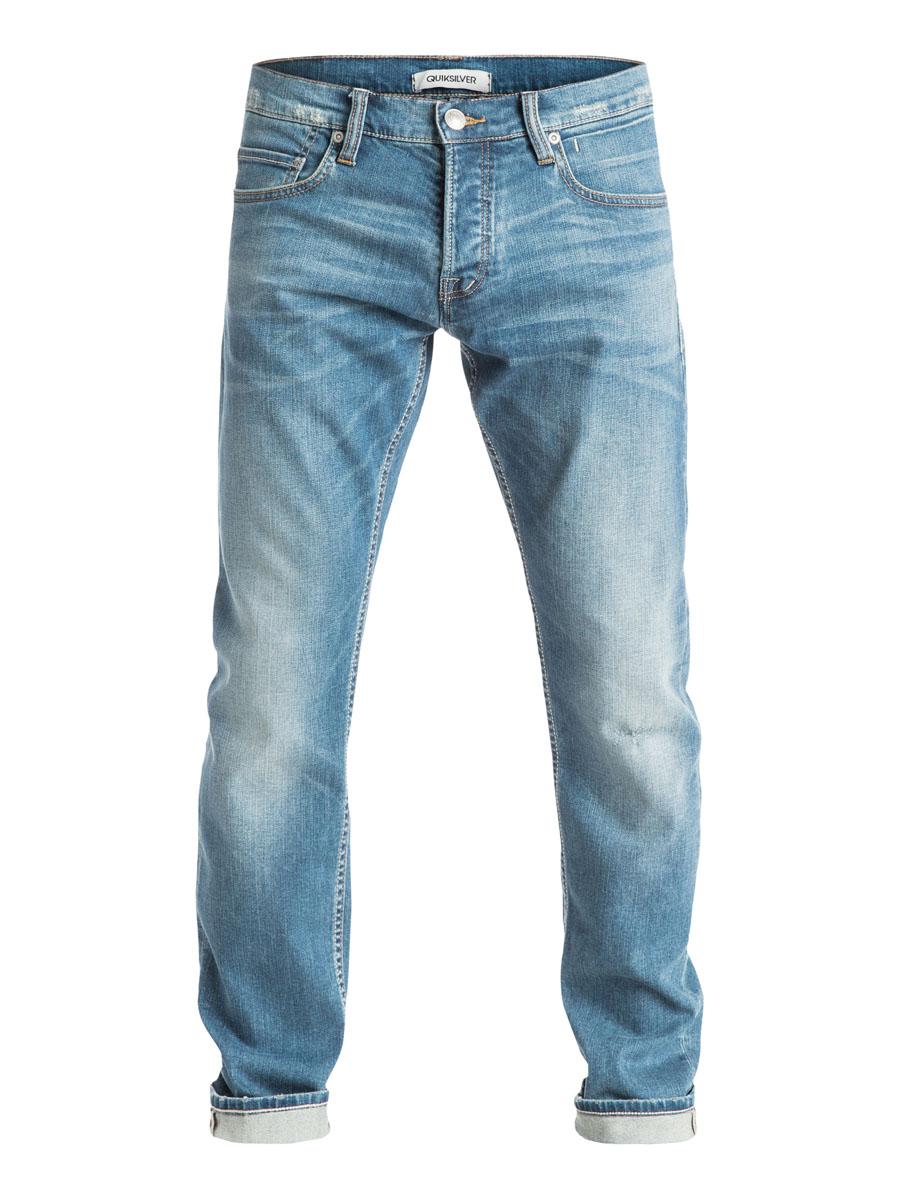 EQYDP03182-BEZWСтильные мужские джинсы Quiksilver изготовлены из эластичного хлопка. Модель застегивается на пуговицу и ширинку на застежках-пуговицах, имеются шлевки для ремня. Спереди модель оформлена тремя врезными карманами и одним секретными кармашком, а сзади - двумя накладными карманами.