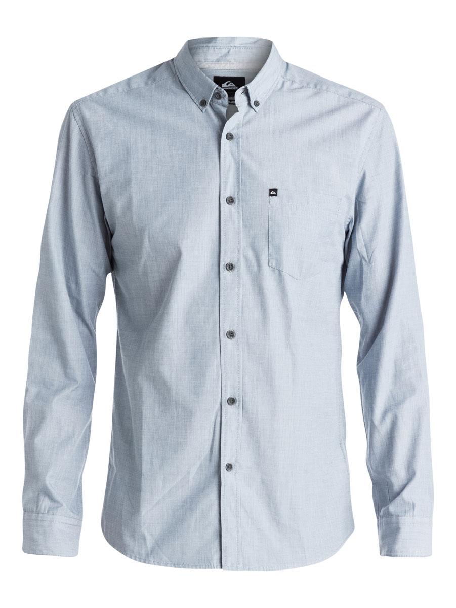 РубашкаEQYWT03265-BRQ0Отличная мужская рубашка Quiksilver выполнена из хлопка и полиэстера. Модель с отложным воротником и длинными рукавами застегивается на пуговицы спереди. Манжеты рукавов также застегиваются на пуговицы. На груди рубашка дополнена накладным карманом.