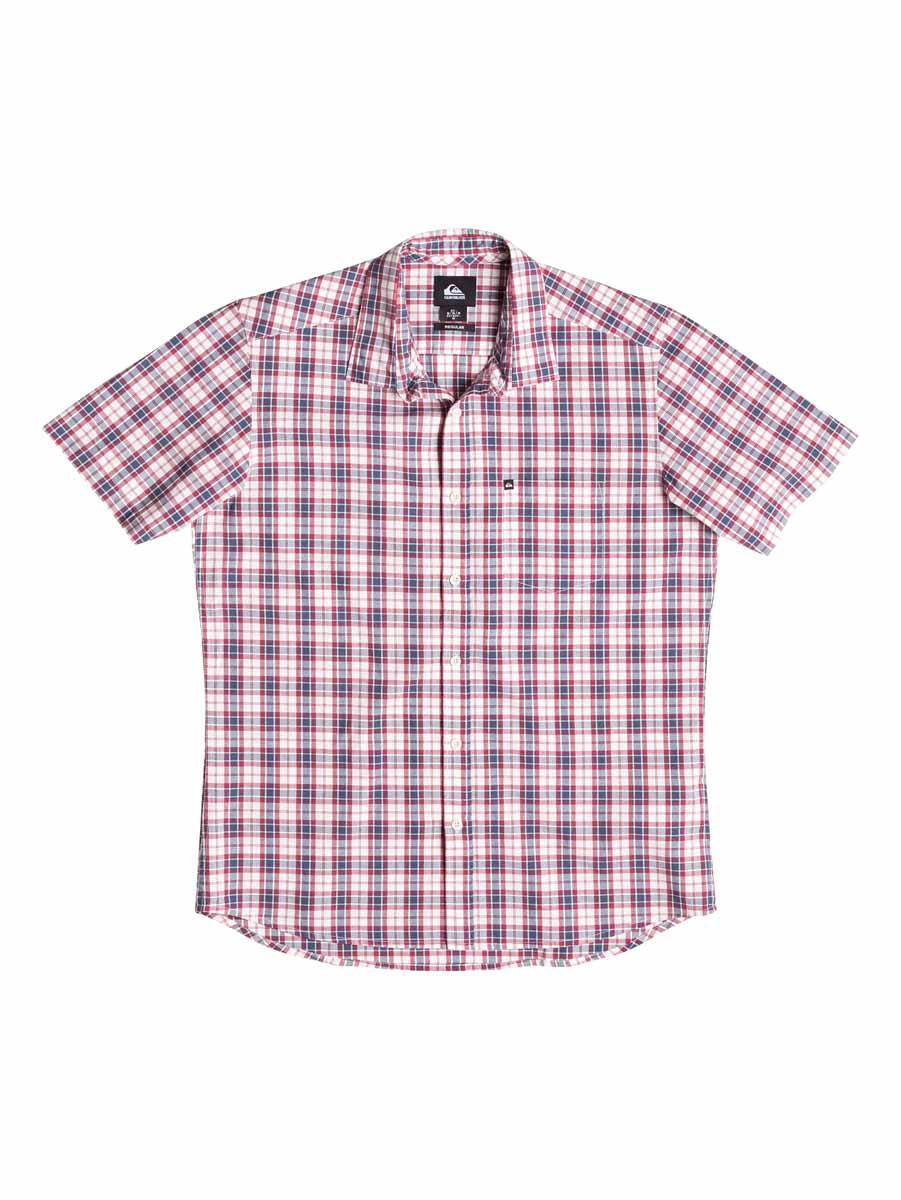 РубашкаEQYWT03269-BNC1Мужская рубашка Quiksilver, изготовленная из 100% хлопка, необычайно мягкая и приятная на ощупь, она не сковывает движения и позволяет коже дышать, обеспечивая комфорт. Модель с короткими рукавами и отложным воротником застегивается на пластиковые пуговицы по всей длине. На груди предусмотрен накладной карман. Низ изделия имеет округлую форму. Такая рубашка станет идеальным вариантом для повседневного гардероба. Она порадует настоящих ценителей комфорта и практичности!