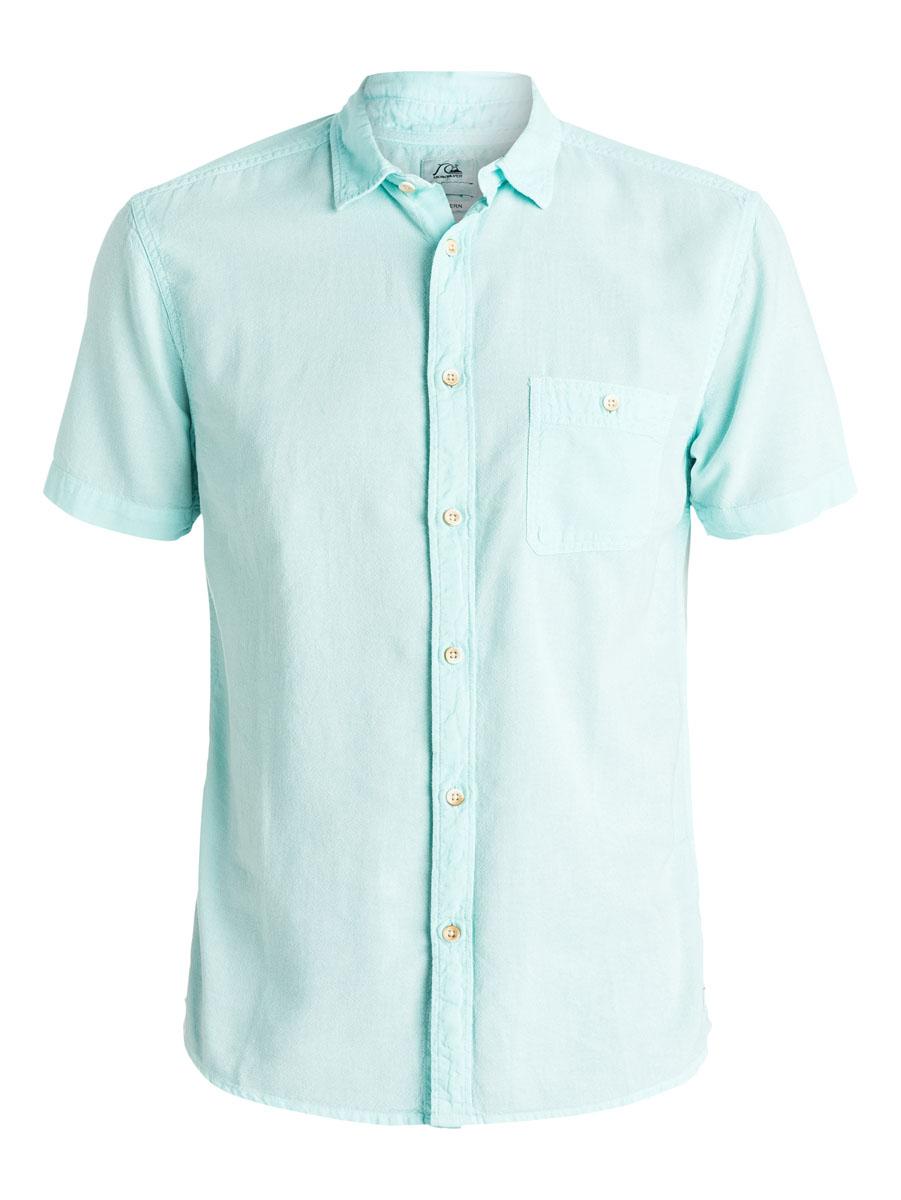 РубашкаEQYWT03298-BFK0Отличная мужская рубашка Quiksilver выполнена из натурального хлопка. Модель с отложным воротником и короткими рукавами застегивается на пуговицы спереди. На груди рубашка дополнена одним накладным карманом на пуговице.
