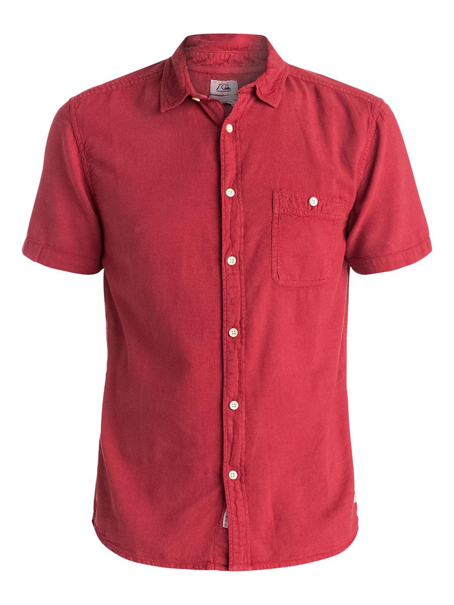 EQYWT03298-BFK0Отличная мужская рубашка Quiksilver выполнена из натурального хлопка. Модель с отложным воротником и короткими рукавами застегивается на пуговицы спереди. На груди рубашка дополнена одним накладным карманом на пуговице.