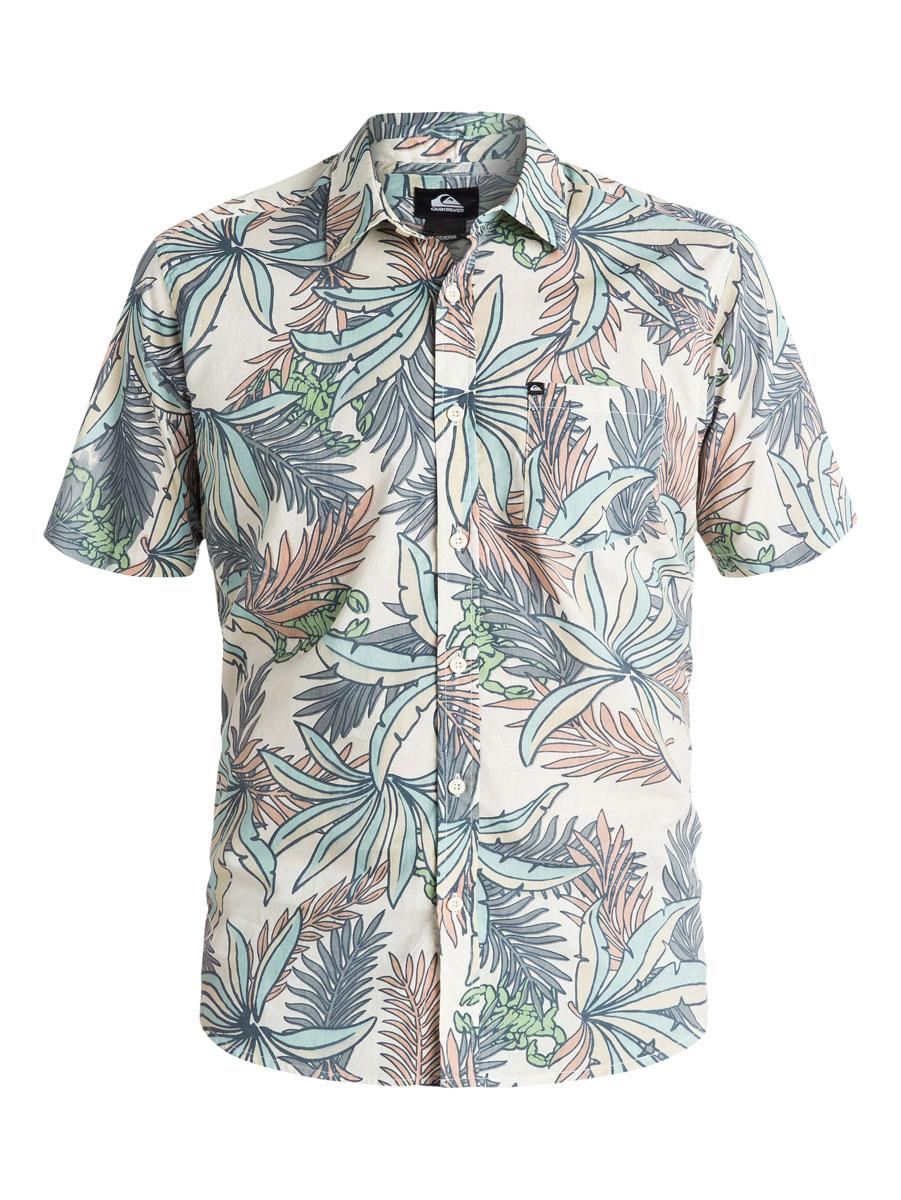 РубашкаEQYWT03350-GBQ6Отличная мужская рубашка Quiksilver выполнена из натурального хлопка. Модель с отложным воротником и короткими рукавами застегивается на пуговицы спереди. На груди рубашка дополнена одним накладным карманом.