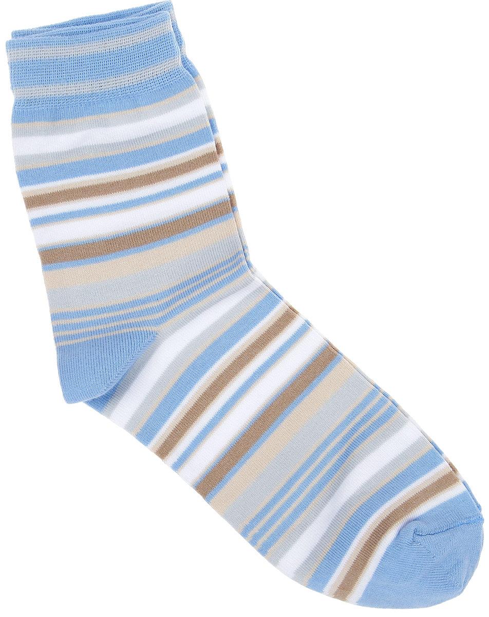 НоскиCD006Удобные носки Alla Buone, изготовленные из высококачественного комбинированного материала, очень мягкие и приятные на ощупь, позволяют коже дышать. Эластичная резинка плотно облегает ногу, не сдавливая ее, обеспечивая комфорт и удобство. Носки с паголенком классической длины оформлены рисунком в полоску. Практичные и комфортные носки великолепно подойдут к любой вашей обуви.