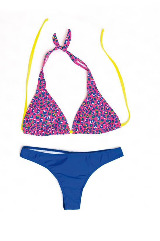 06-0714-200_07Стильный женский купальник Emdi будет незаменим во время пляжного сезона и позволит вам подчеркнуть свой вкус и неповторимый стиль. Купальник выполнен из эластичного полиамида. Верх на завязках на шее и спине. Трусики-бикини посадки на бедрах.