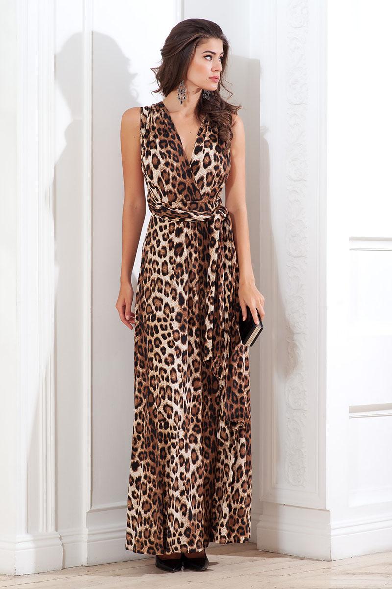 Платье. 107600107600_49Платье из тонкого трикотажного полотна длиной в пол. Широкие бретели можно завязывать несколькими вариантами, каждый раз получая новый образ.