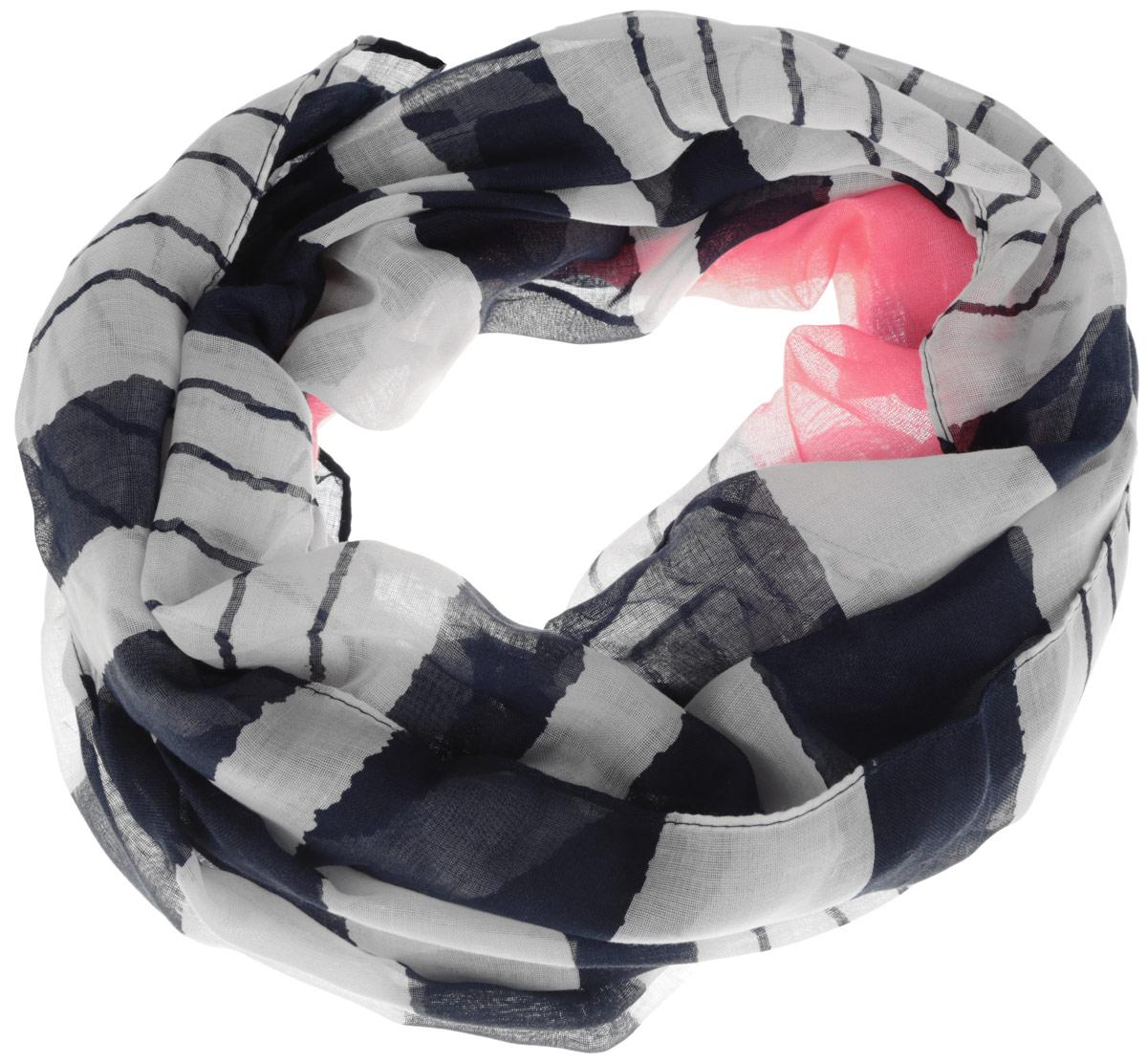 Палантин3402071Элегантный палантин Codello станет достойным завершением вашего образа. Палантин изготовлен из 100% полиэстера. Модель оформлена принтом в полоску и оригинальным смайлом. Палантин красиво драпируется, он превосходно дополнит любой наряд и подчеркнет ваш изысканный вкус. Легкий и изящный палантин привнесет в ваш образ утонченность и шарм.