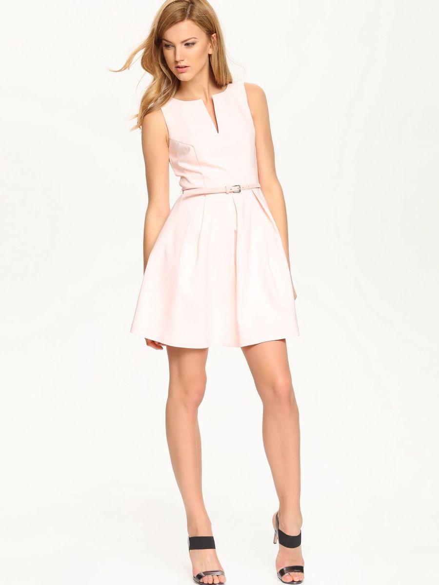 ПлатьеSSU1513ROОчаровательное платье Top Secret, выполненное из хлопка с добавлением полиэстера и эластана с подкладкой из полиэстера, идеально впишется в ваш гардероб. Модель без рукавов и с V-образным вырезом горловины застегивается по спинке на потайную застежку-молнию. Изысканное платье-миди, юбка которого оформлена складками, создаст обворожительный неповторимый образ. Талию подчеркнет пояс. Это модное и удобное платье станет превосходным дополнением к вашему гардеробу. Модель подарит вам удобство и поможет вам подчеркнуть вкус и неповторимый стиль.
