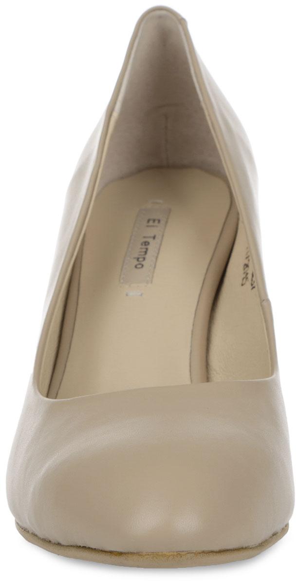Туфли женские. CS62_1617-1-Q237_BEIGE