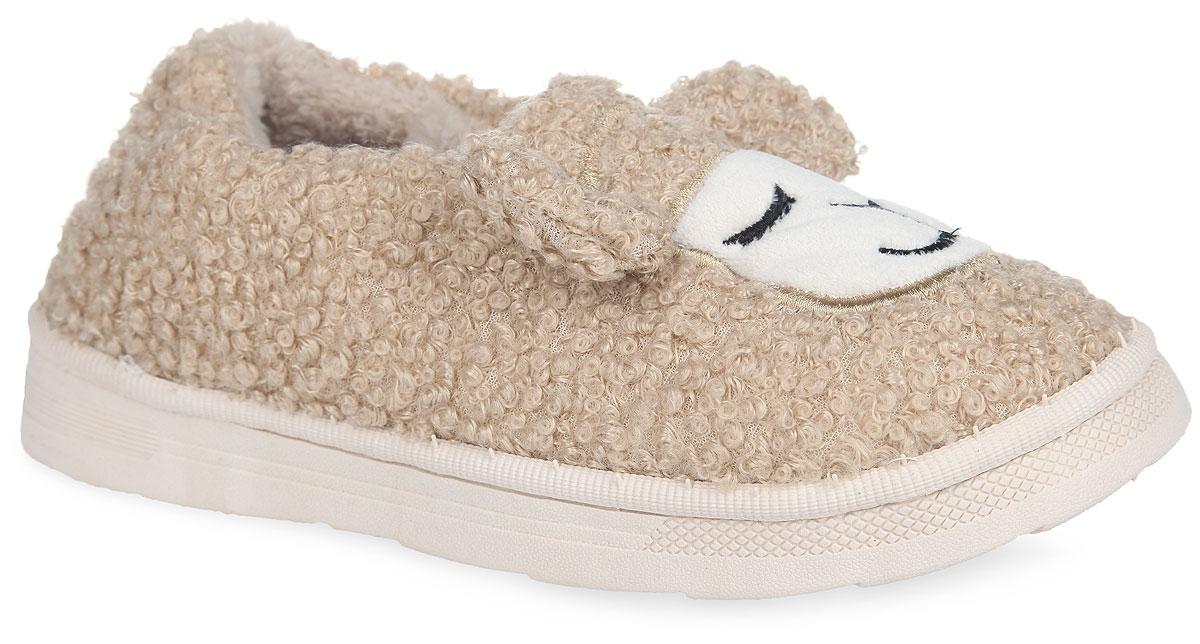 Тапки женские Спящие овечки. KW036-00009KW036-000093Чудесные тапочки от Kawaii Factory Спящие овечки заинтересуют вас с первого взгляда. Модель выполнена из высококачественных материалов и оформлены нашивкой в виде мордочки овечки и декоративными ушками. Подкладка и стелька, изготовленные из ворсистого текстиля, согреют ваши ножки, а также обеспечат комфорт и уют. Рельефное основание подошвы из ЭВА материала обеспечивает уверенное сцепление с любой поверхностью. Материал ЭВА не пропускает и не впитывает воду. Такие тапочки помогут отдохнуть вашим ножкам после трудового дня.