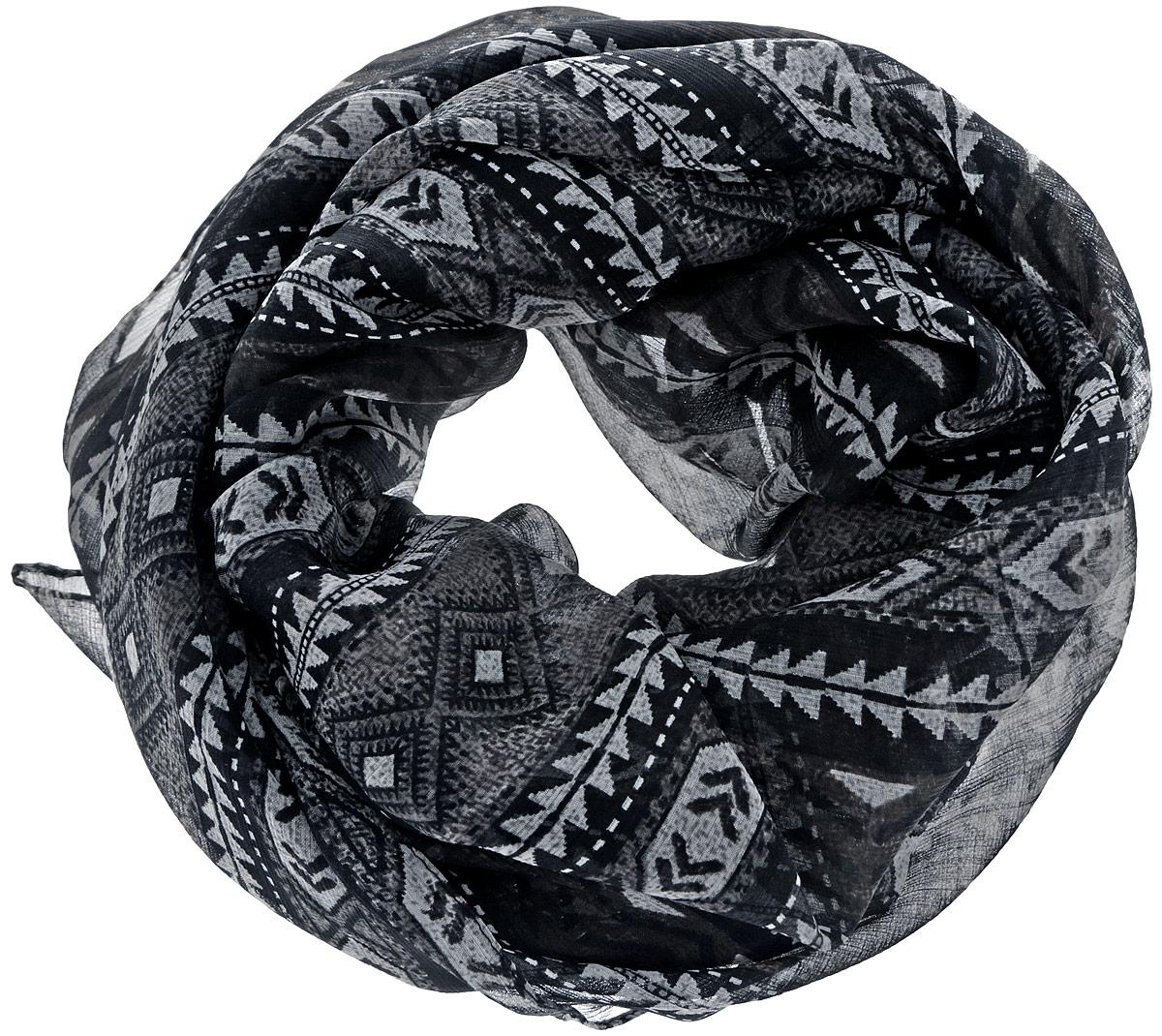 Платок524040нСтильный женский платок Ethnica станет великолепным завершением любого наряда. Платок изготовлен из 100% вискозы и оформлен оригинальным принтом в полоску. Классическая квадратная форма позволяет носить платок на шее, украшать им прическу или декорировать сумочку. Такой платок превосходно дополнит любой наряд и подчеркнет ваш неповторимый вкус и элегантность.