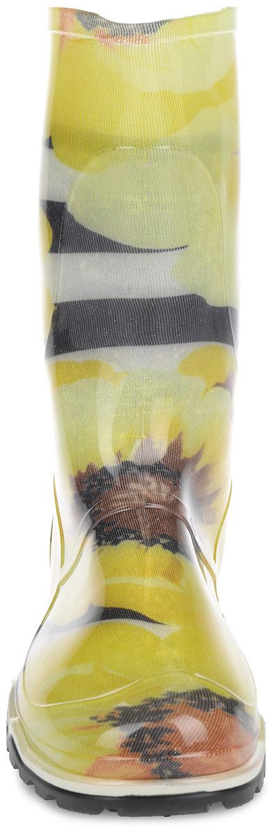 Полусапоги резиновые женские. 340 РУ(НТП)
