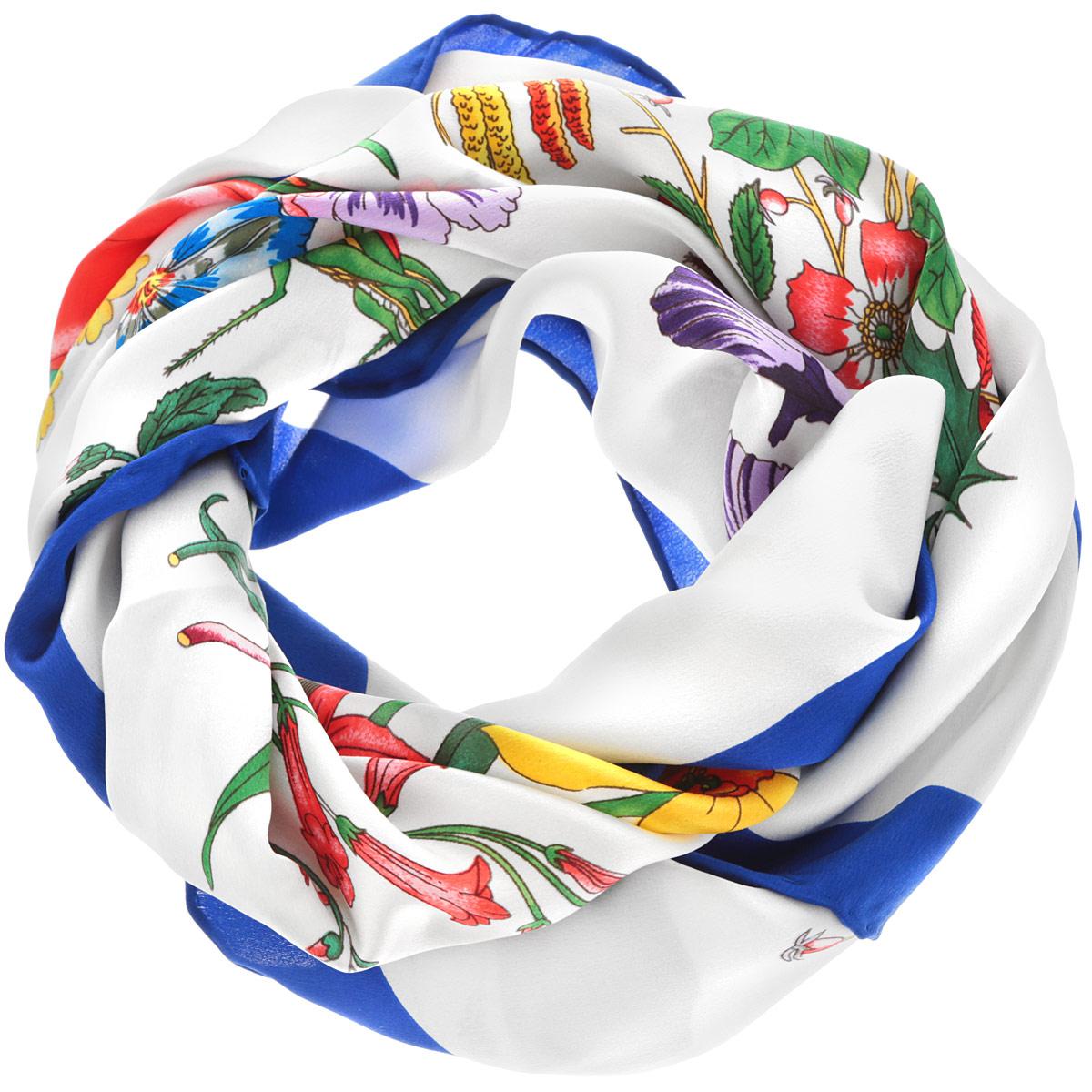 Платок женский. ЖПП15024_5ЖПП15024_5Стильный женский платок Piero станет великолепным завершением любого наряда. Платок изготовлен из натурального шелка и оформлен оригинальным цветочным принтом. Классическая квадратная форма позволяет носить платок на шее, украшать им прическу или декорировать сумочку. Такой платок превосходно дополнит любой наряд и подчеркнет ваш неповторимый вкус и элегантность.