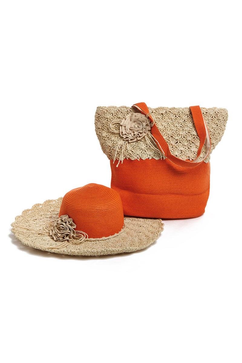 Moltini Комплект женский (сумка, шляпа). 15V006