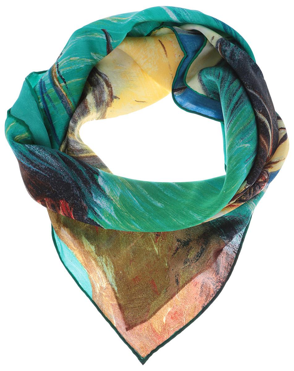 ЖПП15033_64Стильный женский платок Piero станет великолепным завершением любого наряда. Платок изготовлен из натурального шелка и оформлен оригинальным принтом в виде изображения лодок. Классическая квадратная форма позволяет носить платок на шее, украшать им прическу или декорировать сумочку. Такой платок превосходно дополнит любой наряд и подчеркнет ваш неповторимый вкус и элегантность.