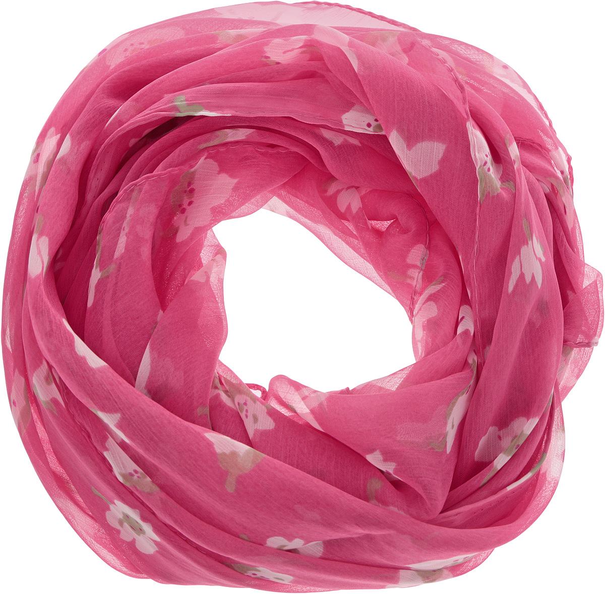 262040Женский шарф Ethnica, изготовленный из 100% вискозы, подчеркнет вашу индивидуальность. Благодаря своему составу, он легкий, мягкий и приятный на ощупь. Изделие оформлено оригинальным цветочным принтом. Такой аксессуар станет стильным дополнением к гардеробу современной женщины.