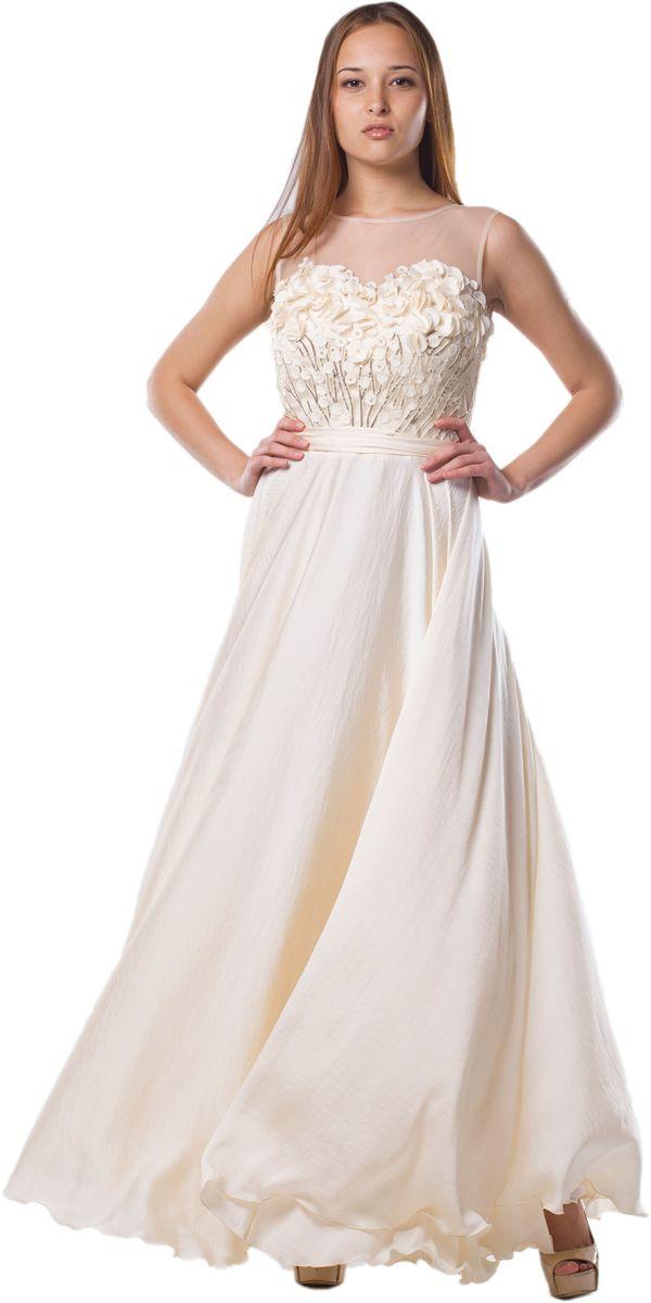 Платье4650_201Очаровательное вечернее платье Seam, выполненное из высококачественного полиэстера с добавлением спандекса, оно отлично сидит по фигуре и подчеркнет ваши достоинства. Платье-макси без рукавов и с круглым вырезом горловины застегивается сзади по спинке на застежку-молнию и небольшой крючок. Верх модели выполнен из сетчатой ткани и оформлен декоративной аппликацией из ткани и небольших пайеток. В поясе платье дополнено пришитым контрастным пояском.