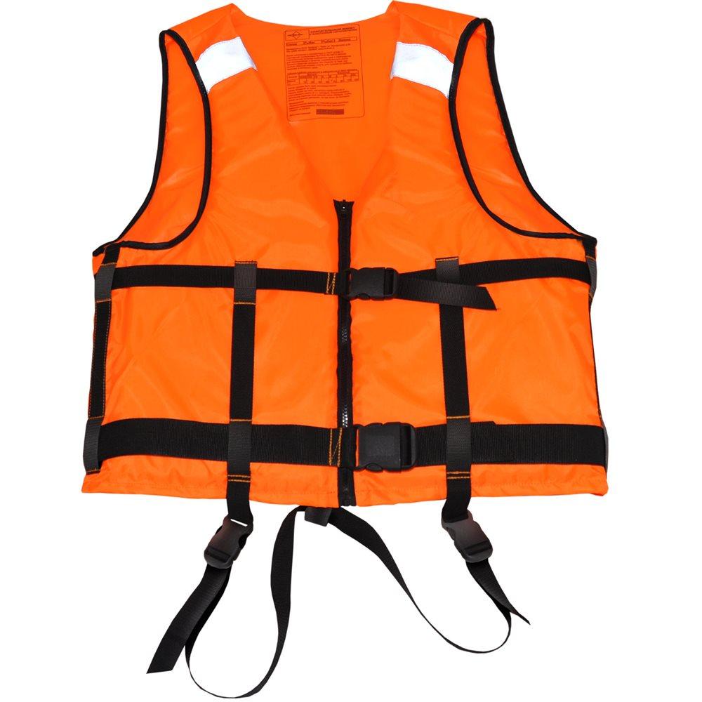 Жилет для рыбалки и охоты95740-233Спасательный жилет Бальза необходимый атрибут для нахождения на воде, будь то речные прогулки, рыбалка, охота с воды или водные виды спорта. Фиксация жилета на теле осуществляется при помощи силовой стропы шириной 50 мм, и силовой пряжкой – фастексом, с возможностью индивидуальной подгонки. В комплекте к жилету поставляется специальный свисток-фонарик с компасом, который надежно закреплен на груди и имеет специальный кармашек. С помощью свистка и фонарика можно подавать свето-звуковые сигналы в экстренной ситуации. Жилет прошел необходимую сертификацию в ГИМС МЧС России, о чем свидетельствуют специальные обозначения на внутренней части жилета.