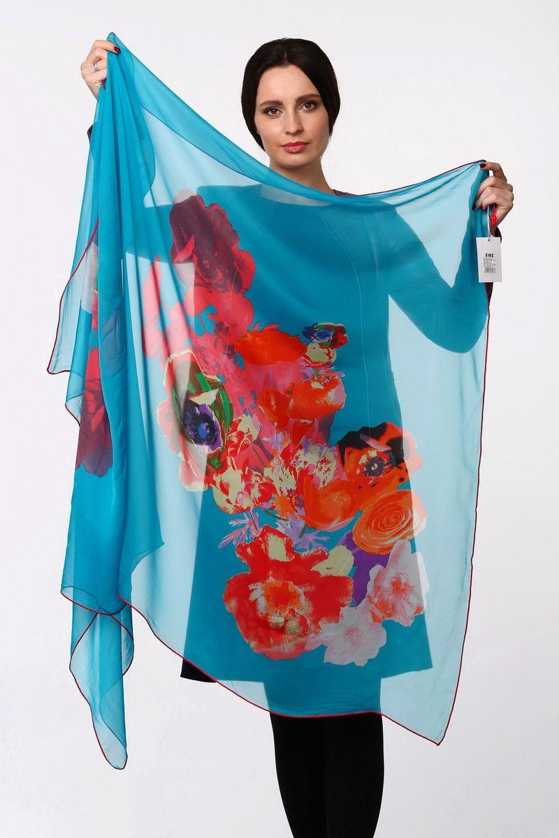 ПалантинHL-11518-4Стильный женский палантин Sophie Ramage станет великолепным завершением любого наряда. Палантин изготовлен из шелка с добавлением полиэстера и оформлен крупным цветочным принтом. Легкий и изящный палантин поможет вам создать изысканный женственный образ, а также согреет в непогоду.