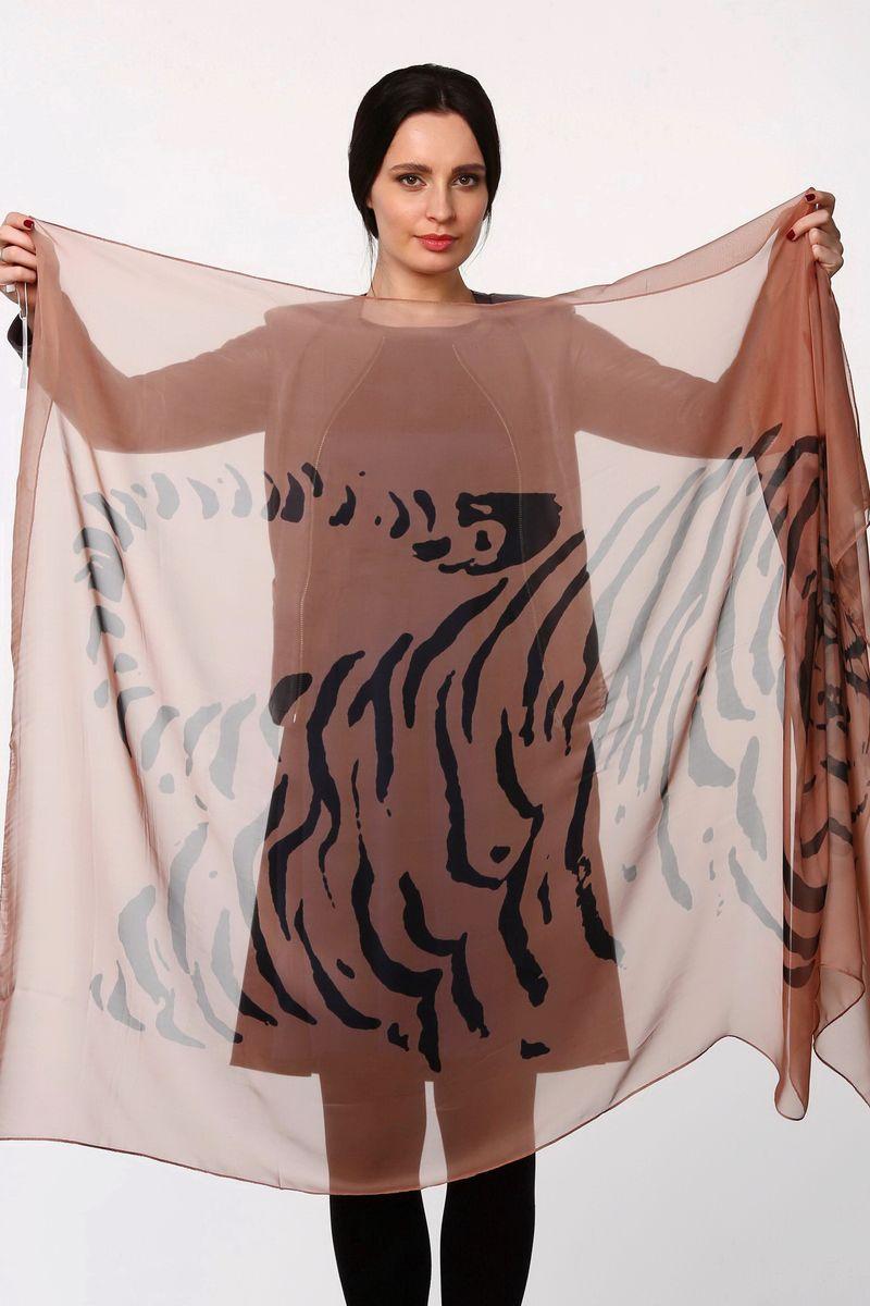 ПалантинHL-11521-12Стильный женский палантин Sophie Ramage станет великолепным завершением любого наряда. Палантин изготовлен из полиэстера с добавлением шелка и оформлен оригинальным принтом. Легкий и изящный палантин поможет вам создать изысканный женственный образ, а также согреет в непогоду.