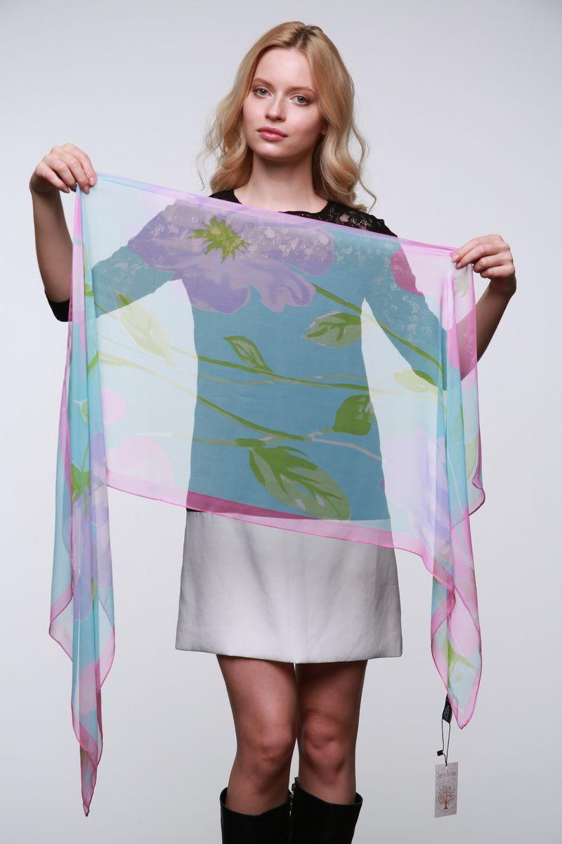 ШарфYY-11562-4Стильный женский шарф Sophie Ramage станет великолепным завершением любого наряда. Шарф изготовлен из полиэстера с добавлением шелка и оформлен нежным цветочным принтом. Изящный шарф поможет вам создать изысканный женственный образ, а также согреет в непогоду.