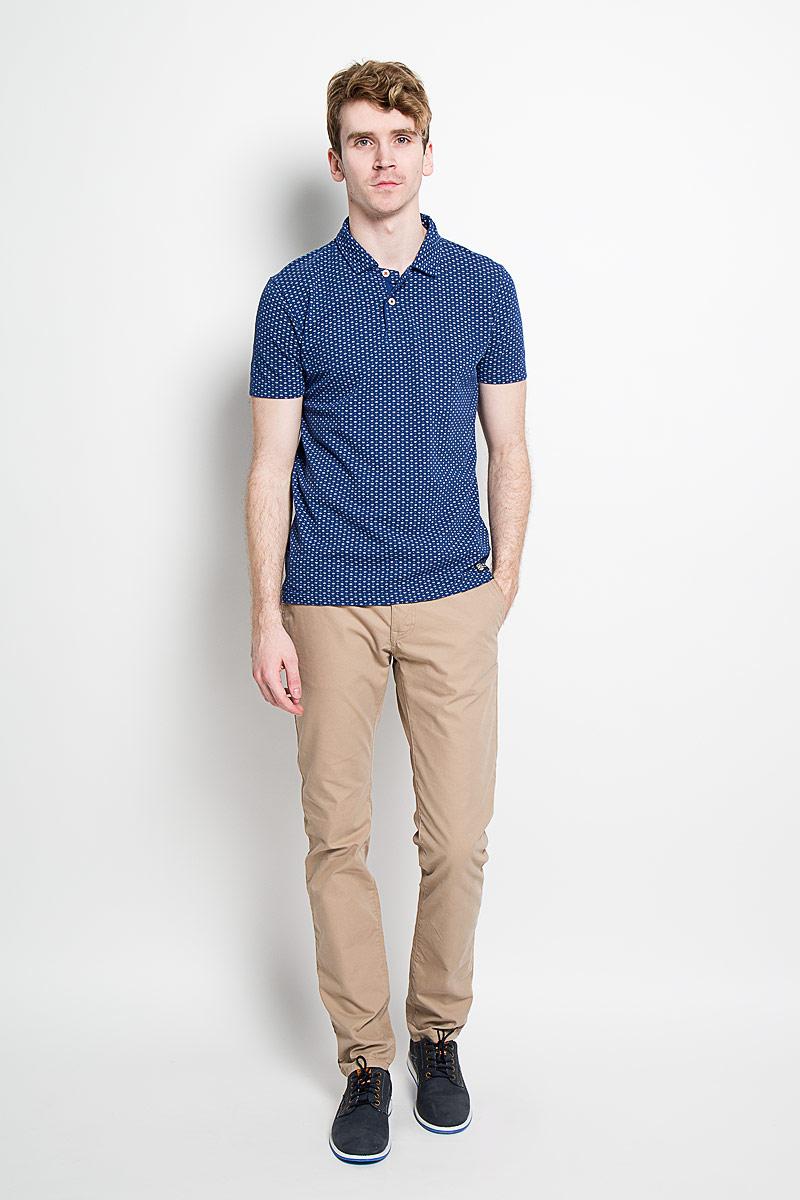 Поло20100123 000Стильная мужская футболка-поло Broadway, выполненная из высококачественного хлопка, обладает высокой теплопроводностью, воздухопроницаемостью и гигроскопичностью, позволяет коже дышать. Модель с короткими рукавами и отложным воротником - идеальный вариант для создания оригинального современного образа. Сверху футболка-поло застегивается на две пуговицы. По бокам модели предусмотрены небольшие разрезы. Изделие оформлено оригинальным принтом. Такая футболка-поло подарит вам комфорт в течение всего дня и послужит замечательным дополнением к вашему гардеробу.