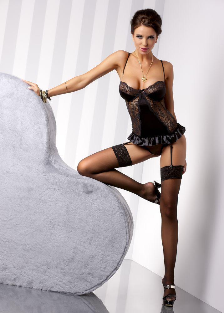 Корсаж Blanchet black corset. 0321803218