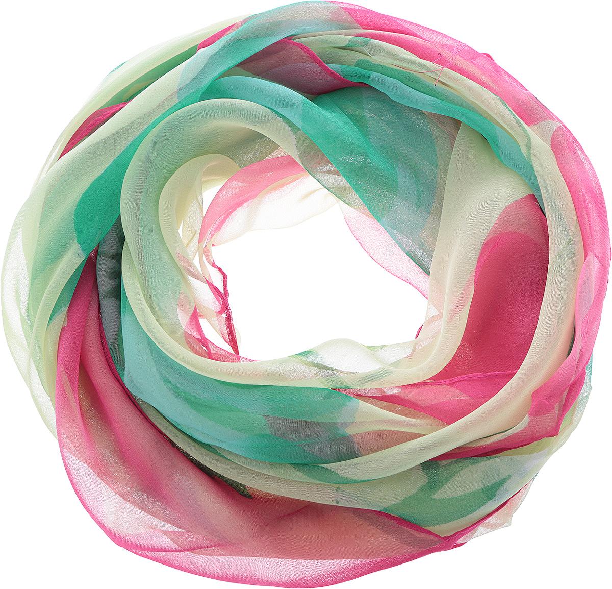 ШарфYY-11559-13Элегантный шарф Sophie Ramage изготовлен из натурального шелка, позволит вам создать неповторимый и запоминающийся образ. Легкий и полупрозрачный шарф оформлен оригинальным цветочным принтом. Шарф красиво драпируется, он превосходно дополнит любой наряд и подчеркнет ваш изысканный вкус. Модный и изящный шарф Sophie Ramage привнесет в ваш образ утонченность и шарм.
