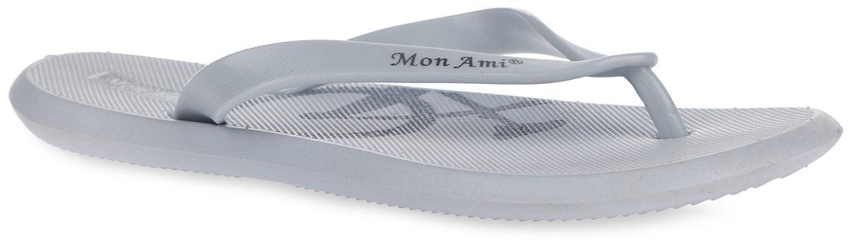 Сланцы мужские. 113-11113-11_BLACKСтильные и очень легкие сланцы от Mon Ami придутся вам по душе. Модель полностью выполнена из ПВХ и оформлена на ремешке названием бренда. Ремешки с перемычкой гарантируют надежную фиксацию изделия на ноге. Рифление на верхней поверхности подошвы предотвращает выскальзывание ноги. Верхняя поверхность декорирована принтом в виде задней части велосипеда. Рельефное основание подошвы обеспечивает уверенное сцепление с любой поверхностью. Удобные сланцы прекрасно подойдут для похода в бассейн или на пляж.