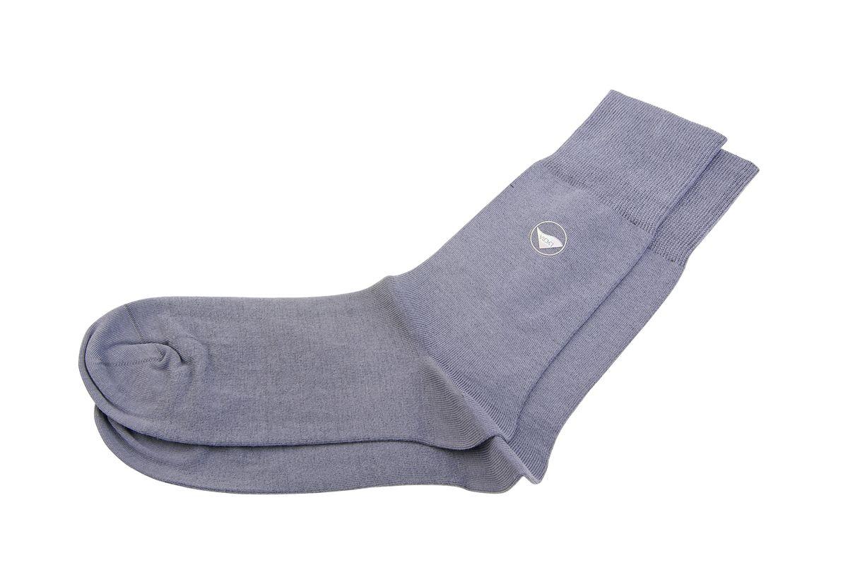 АМ-5100_8101Мужские носки Askomi Classic выполнены из хлопка с добавлением полиамида и лайкры, что является оптимальным сочетанием волокон. Дополнены двойным бортом для плотной фиксации, не пережимающим сосуды. Кеттельный шов не ощутим для ноги.
