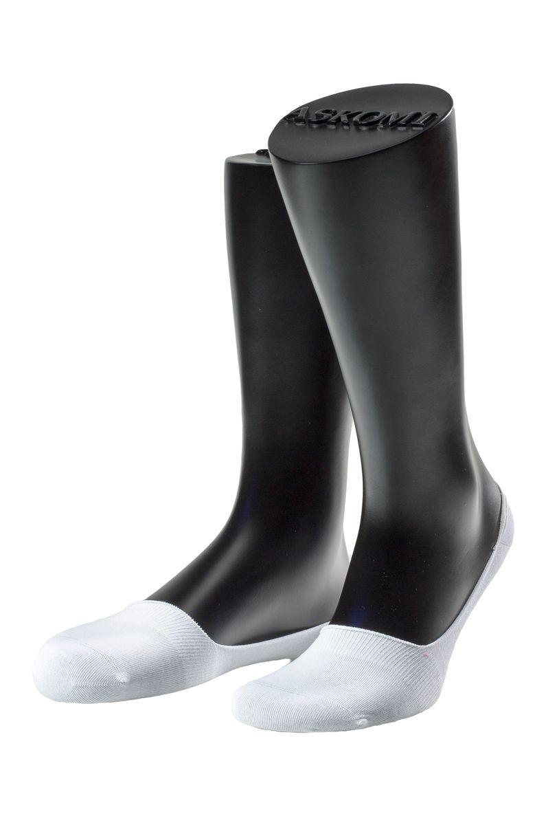 АМ-5203_8101Мужские подследники Askomi Casual для повседневной носки выполнены из мерсеризованного хлопка с добавлением полиамида и эластана - гладкого, приятного на ощупь материала. Специальная форма носка позволяет ему оставаться невидимым в обуви. Модель имеет неощутимый силиконовый суппорт, благодаря чему подследник плотно прилегает к ноге. Кеттельный шов не ощутим для ноги.