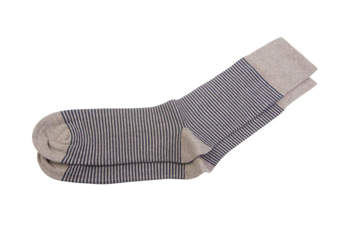 Носки мужские. АМ-5260АМ-5260Хлопок Supima® благодаря тонким и длинным волокнам, обладает повышенной прочностью, мягкостью и яркостью цвета.Стильный дизайн с тонкими горизонтальными полосками.Укрепление мыска и пятки для идеальной прочности. Кеттельный шов не ощутим для ноги