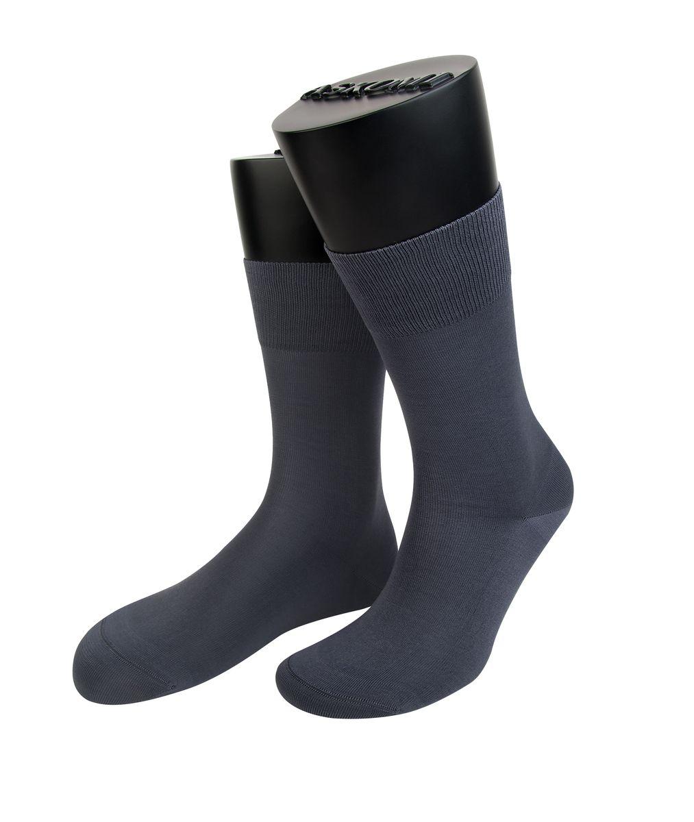 НоскиАМ-7150_8101Мужские носки Askomi Classic для повседневной носки выполнены из мерсеризованного хлопка Pima. Использована двойная плотная нить, благодаря чему носок приобретает эластичность без добавления синтетических нитей. Носок и пятка укреплены, что значительно увеличивает износостойкость носков. Двойной борт для плотной фиксации не пережимает сосуды. Кеттельный шов не ощутим для ноги.