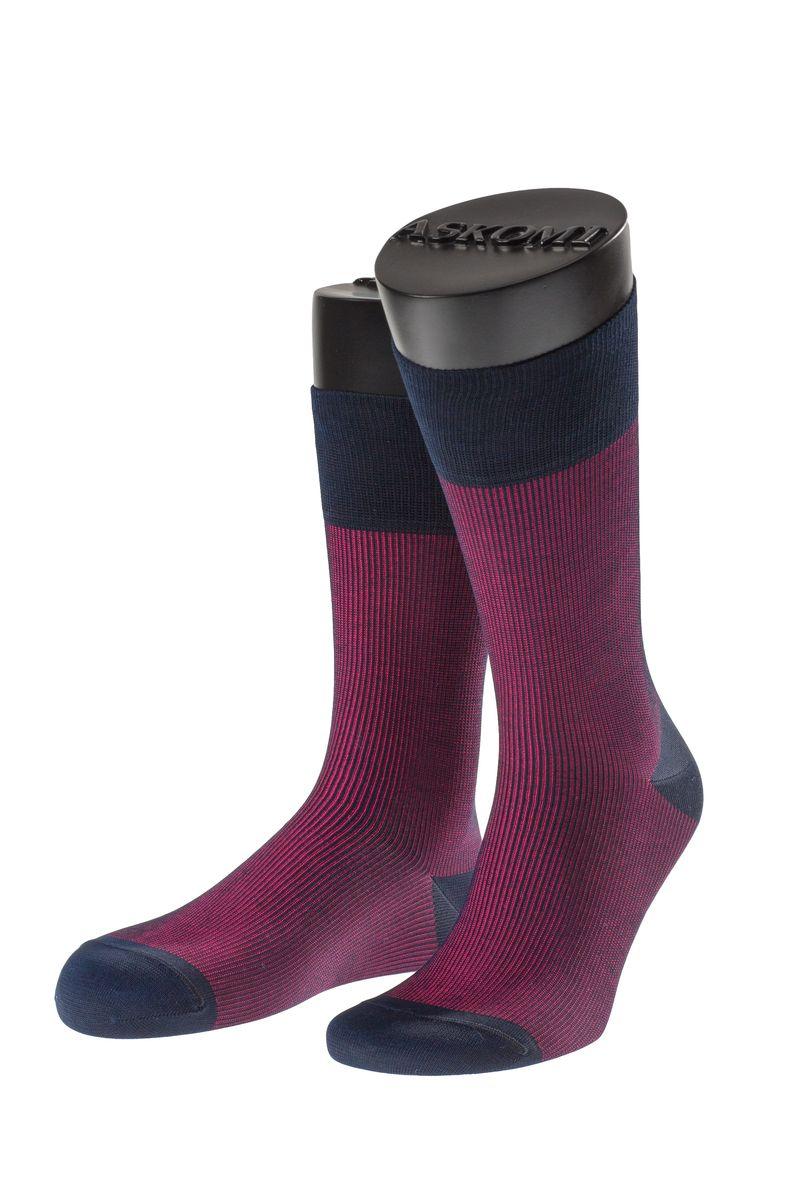 АМ-7705_5201Мужские носки Askomi Casual выполнены из мерсеризованного хлопка с добавлением полиамида. Двойной борт для плотной фиксации не пережимает сосуды. Укрепление мыска и пятки для идеальной прочности. Кеттельный шов не ощутим для ноги.