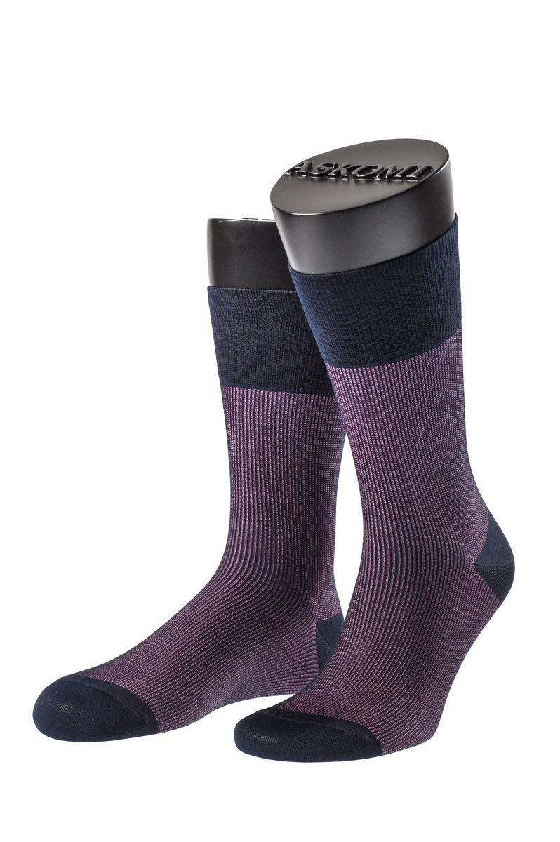 НоскиАМ-7704_1406Мужские носки Askomi Casual выполнены из хлопка с добавлением полиамида. Двойной борт для плотной фиксации не пережимает сосуды. Укрепление мыска и пятки для идеальной прочности. Кеттельный шов не ощутим для ноги.