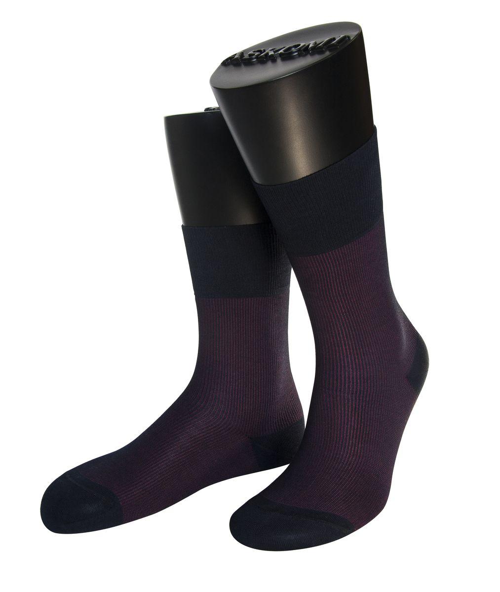 НоскиАМ-7701_1979Мужские носки Askomi Casual выполнены из мерсеризованного хлопка с добавлением полиамида. Двойной борт для плотной фиксации не пережимает сосуды. Укрепление мыска и пятки для идеальной прочности. Кеттельный шов не ощутим для ноги.