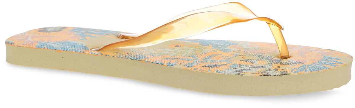 Сланцы женские Sanya. MSW58_SANYAMSW58_SANYA_GREENСтильные и очень легкие сланцы от Mon Ami придутся вам по душе. Верх модели выполнен из ПВХ. Ремешки с перемычкой гарантируют надежную фиксацию изделия на ноге. Верхняя часть подошвы декорирована ярким цветочным принтом. Рифление на верхней поверхности подошвы предотвращает выскальзывание ноги. Рельефное основание подошвы из ЭВА материала обеспечивает уверенное сцепление с любой поверхностью. Материал ЭВА имеет пористую структуру, обладает великолепными теплоизоляционными и морозостойкими свойствами, 100% водонепроницаемостью, придает обуви амортизационные свойства, мягкость при ходьбе, устойчивость к истиранию подошвы. Удобные сланцы прекрасно подойдут для похода в бассейн или на пляж.