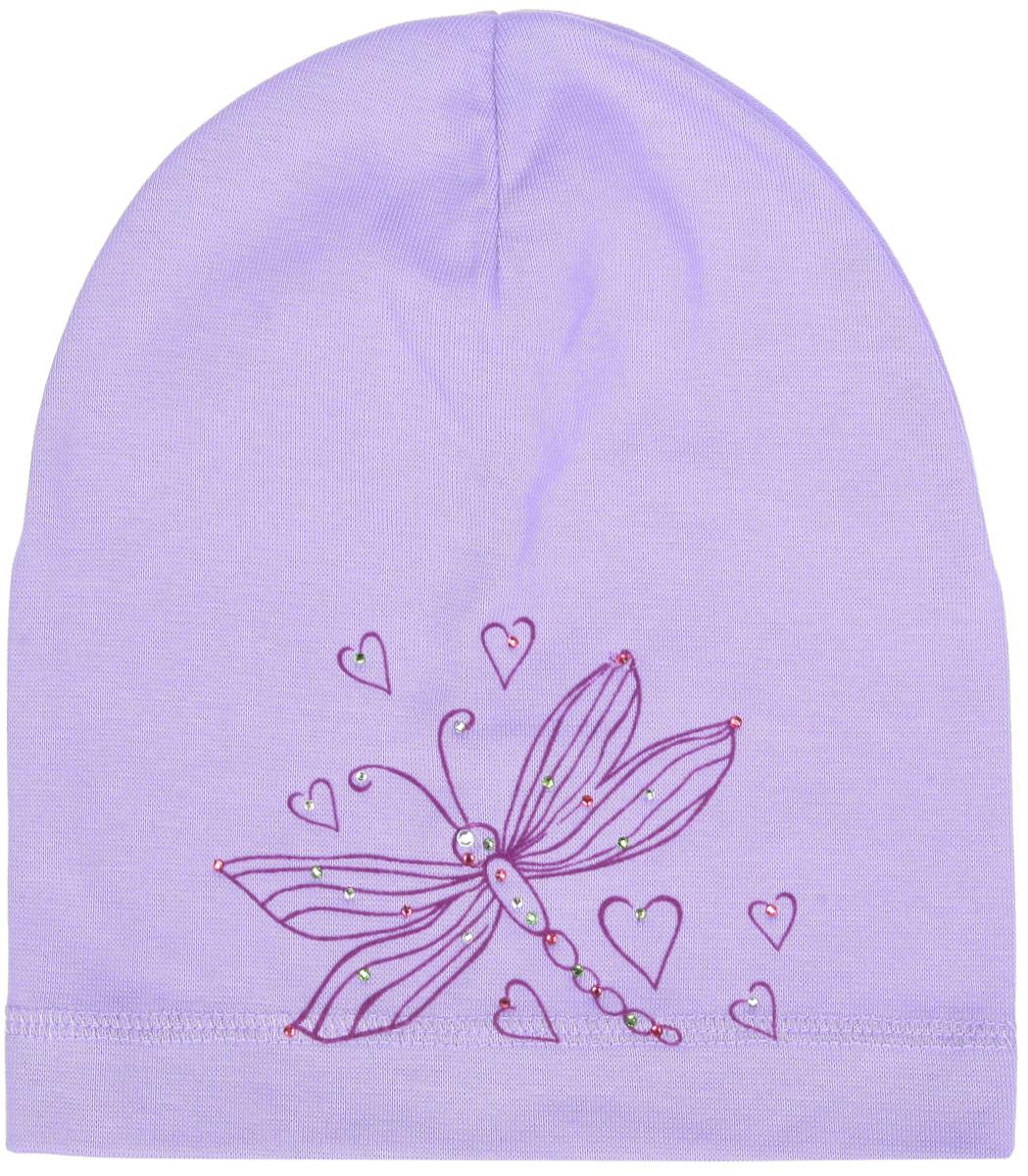 Шапка для девочки. DC4745-22DC4745-22_1Шапка для девочки Fishka станет стильным дополнением к детскому гардеробу. Она выполнена из хлопка с добавлением лайкры, приятная на ощупь, идеально прилегает к голове. Изделие декорировано стразами, а также термоаппликацией в виде стрекозы и сердечек. Современный дизайн и расцветка делают эту шапку модным детским аксессуаром. В такой шапке ребенок будет чувствовать себя уютно, комфортно и всегда будет в центре внимания!