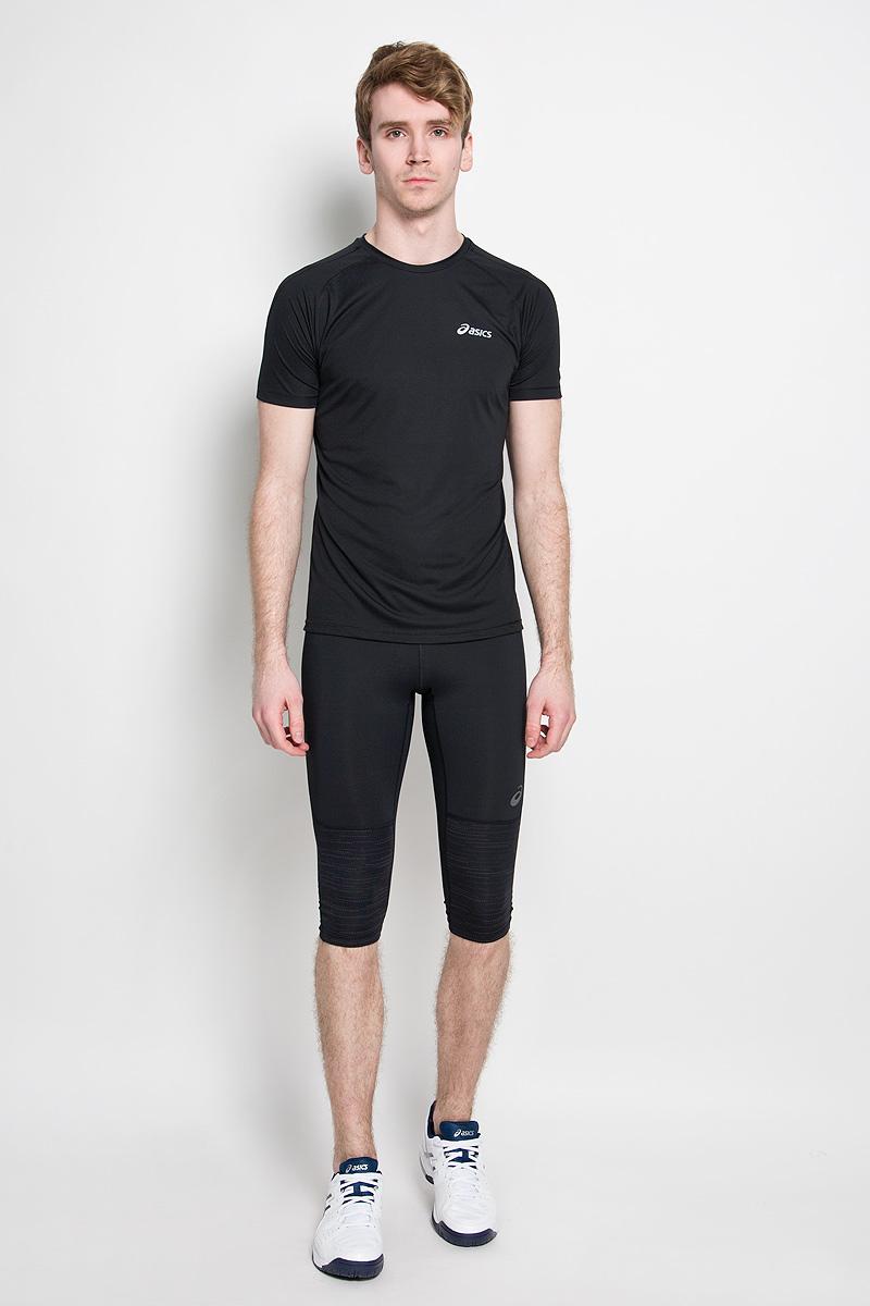 Футболка для бега мужская SS Top. 110407110407-0823Стильная мужская футболка Asics SS Top, изготовленная из 100% полиэстера, станет отличным выбором для занятий бегом. Высококачественный материал позволяет коже свободно дышать, отводит влагу и сохраняет тело в сухости. Модель с рукавами-реглан и круглым вырезом горловины - идеальный вариант для создания образа в спортивном стиле. Светоотражающие элементы не позволят вам остаться незамеченными в темное время суток. Такая модель подарит вам комфорт во время занятий спортом и активного отдыха.
