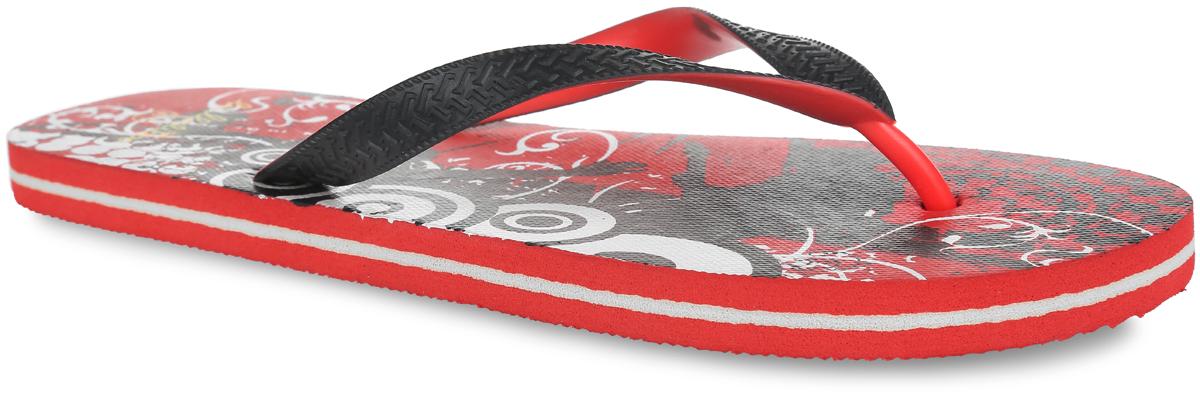 XYP14037_гУдобные и очень легкие сланцы от Lamaliboo придутся вам по душе. Верх модели выполнен из ПВХ и оформлен на ремешках оригинальным тиснением. Ремешки с перемычкой гарантируют надежную фиксацию изделия на ноге. Верхняя часть подошвы декорирована стильным принтом и названием бренда. Рифление на верхней поверхности подошвы предотвращает выскальзывание ноги. Рельефное основание подошвы обеспечивает уверенное сцепление с любой поверхностью. Удобные сланцы прекрасно подойдут для похода в бассейн или на пляж.