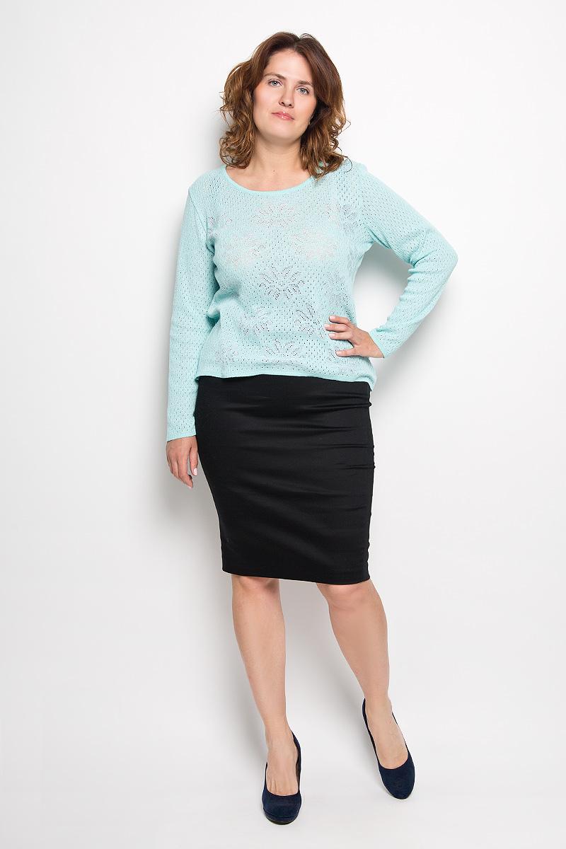 Юбка30316Эффектная юбка-карандаш Milana Style выполнена из хлопка с добавлением полиэстера, она обеспечит вам комфорт и удобство при носке. Такой материал обладает высокой гигроскопичностью, великолепно пропускает воздух и не раздражает кожу Однотонная юбка-карандаш застегивается на застежку-молнию сбоку, на поясе имеются шлевки для ремня. Модная юбка выгодно освежит и разнообразит ваш гардероб. Создайте женственный образ и подчеркните свою яркую индивидуальность! Классический фасон и оригинальное оформление этой юбки позволят вам сочетать ее с любыми нарядами