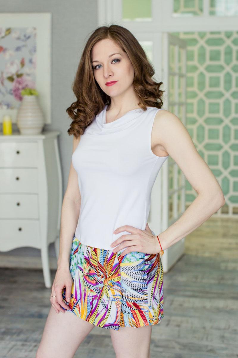 Комплект женский: топ, юбка-шорты. 7117140871171408