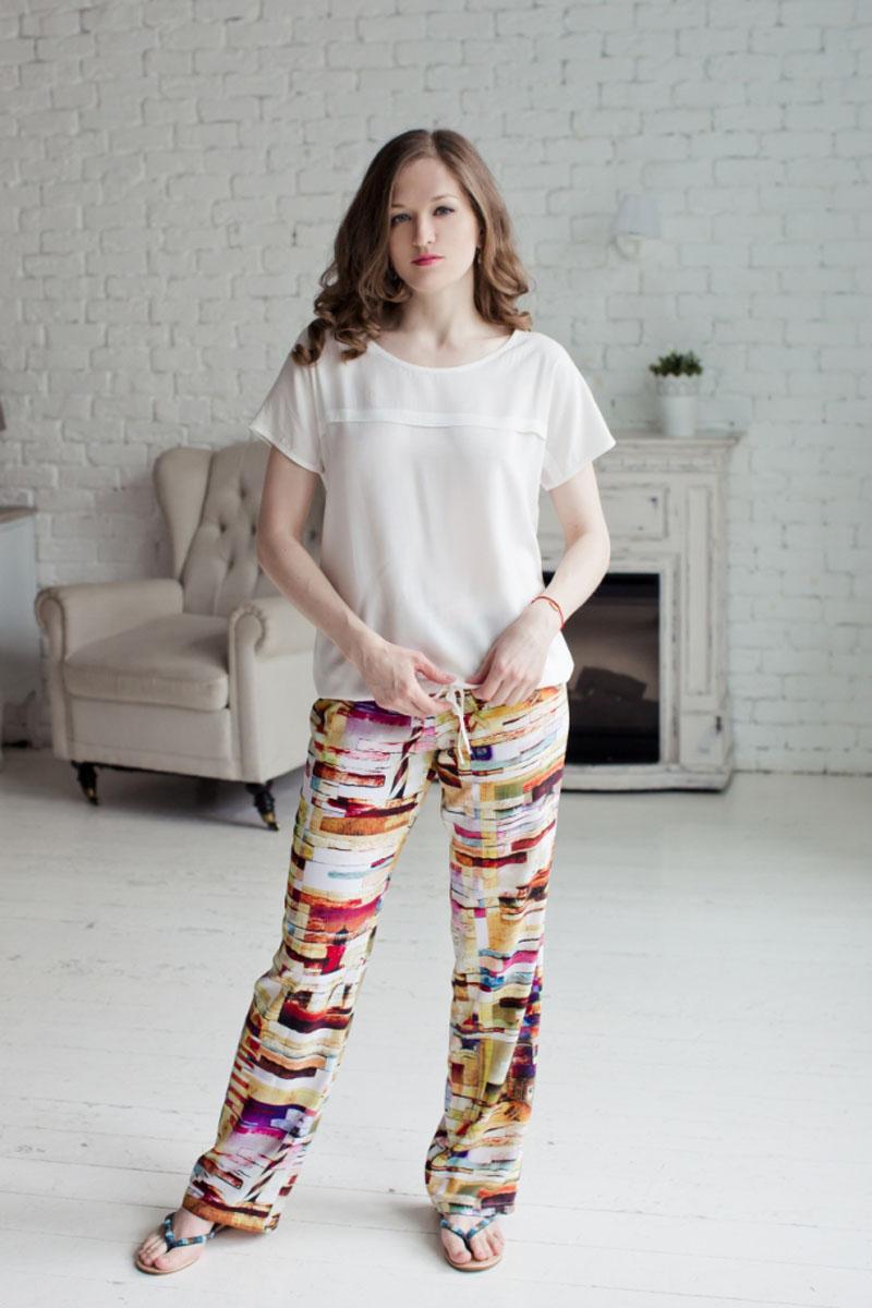 Комплект женский: блузка, брюки. 7117160471171604