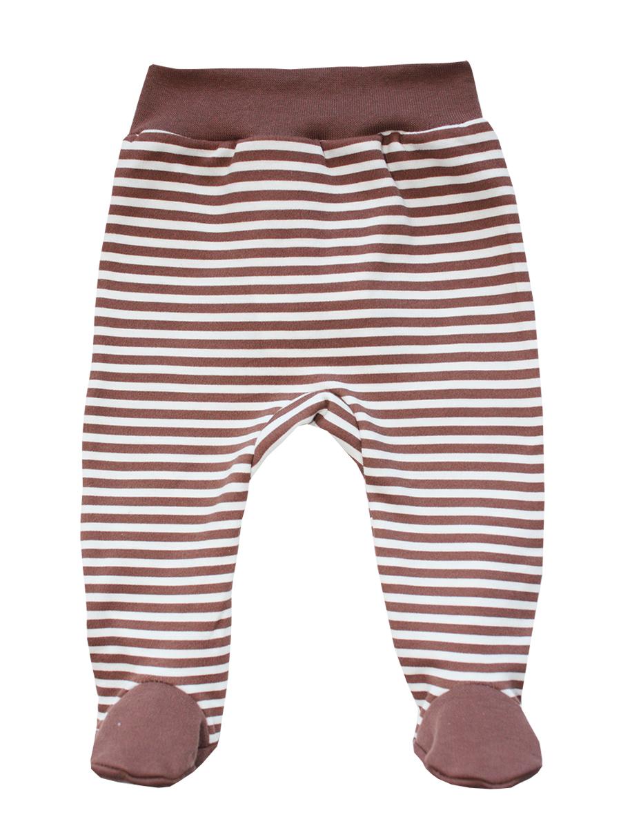 Ползунки5266Ползунки КотМарКот выполнены из натурального хлопка. Ползунки с закрытыми ножками на талии имеют эластичную резинку, благодаря чему не сдавливают животик ребенка и не сползают. Модель оформлена принтом в полоску.