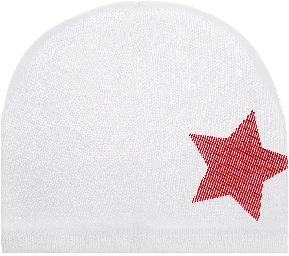 Шапка для мальчика. 146-22146-22-1Шапка для мальчика InFante станет стильным дополнением к детскому гардеробу. Шапка выполнена из натурального хлопка, мягкая и приятная на ощупь, идеально прилегает к голове. Изделие оформлено принтом с изображением звезды. Современный дизайн и расцветка делают эту шапку модным детским аксессуаром. В такой шапке ребенок будет чувствовать себя уютно, комфортно и всегда будет в центре внимания! Уважаемые клиенты! Размер, доступный для заказа, является обхватом головы.