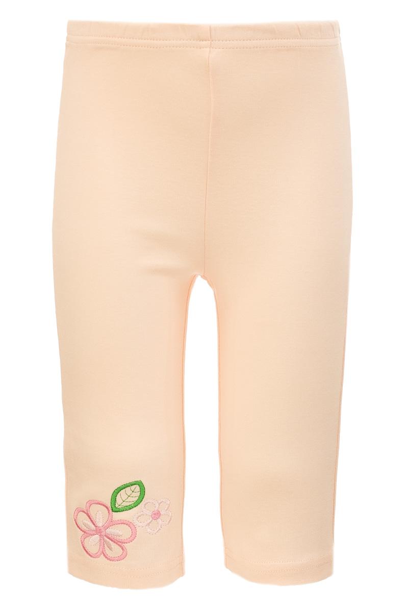 ШтанишкиUN0045-4Штанишки для девочки Unique выполнены из натурального хлопка. Модель имеет эластичную резинку на талии. Изделие оформлено принтом с вышитыми цветами.