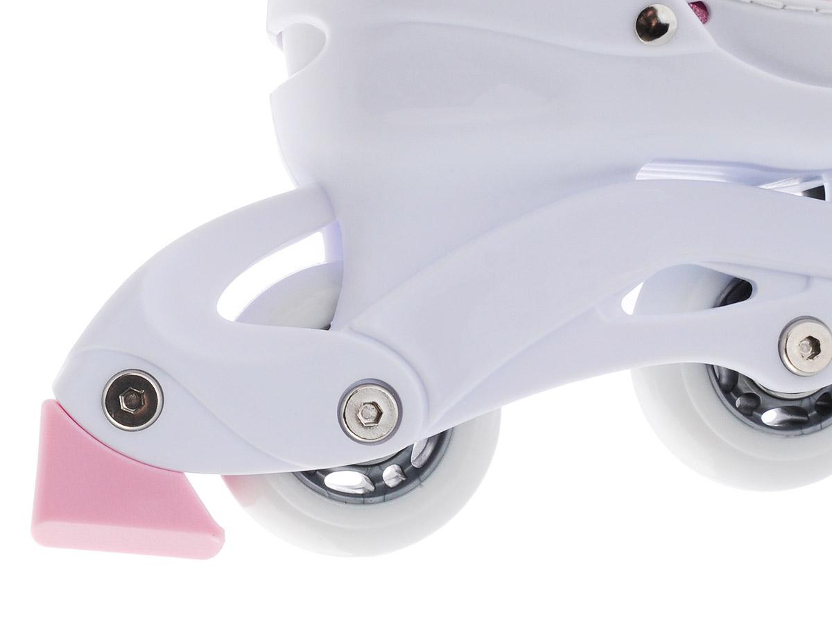 Комплект Caribo Combo: коньки роликовые раздвижные, защита, шлем