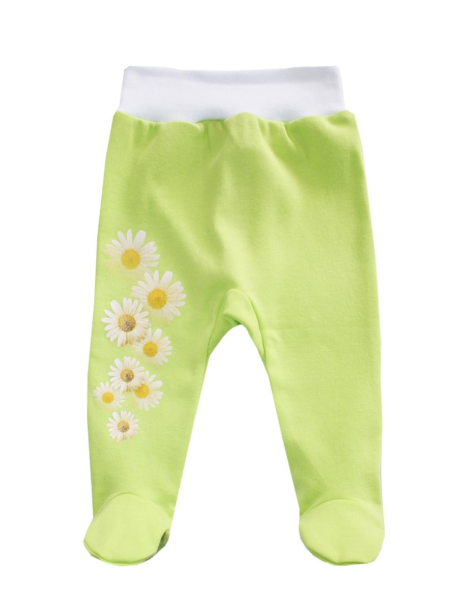 5268Ползунки для девочки КотМарКот выполнены из натурального хлопка. Ползунки с закрытыми ножками на талии имеют эластичную резинку, благодаря чему не сдавливают животик ребенка и не сползают. Оформлена модель цветочным принтом.